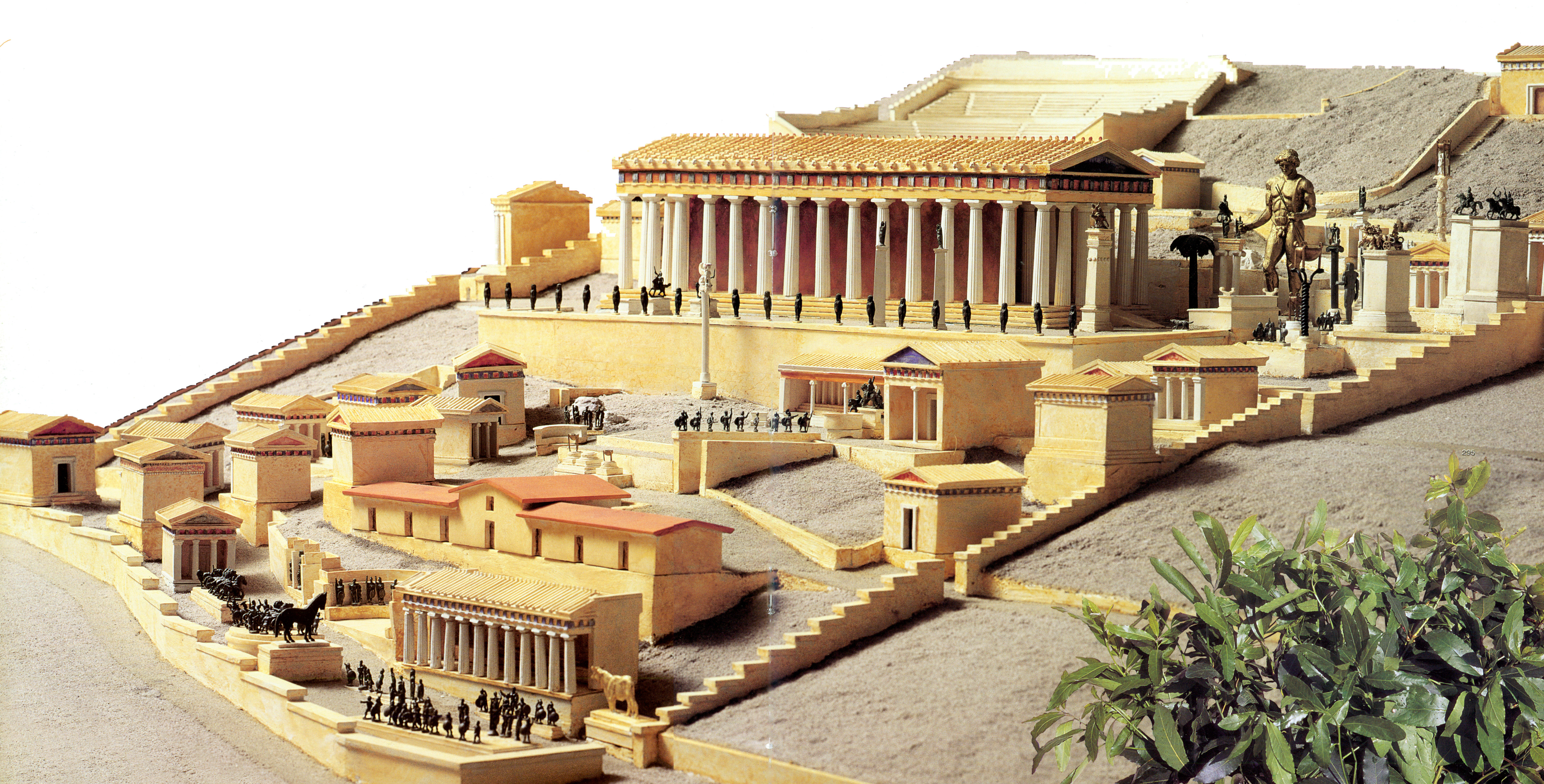Bild zu Statuen Olympia Delphi - Krumeich